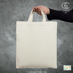 sac porte document A4 28x32cm écru 140g