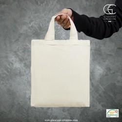 Mini-sac 22x26 cm écru 140g